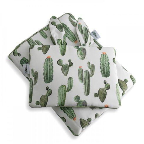 Ágynemű szett nyuszifüles kispárnával paplannal együtt kaktusz mintás