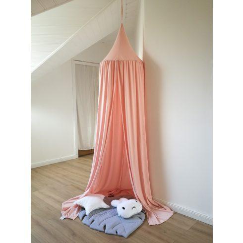 Baldachin gyerekszobába nagy méret púder rózsaszín
