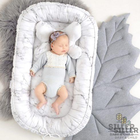 Babafészek újszülötteknek márvány mintás