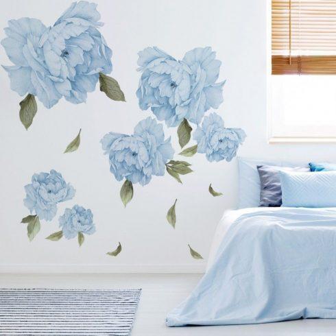 Falmatrica Kék színű bazsarózsa nagy virágok 100 cm x 100 cm